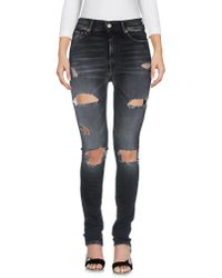 HTC - Denim Pants - Lyst
