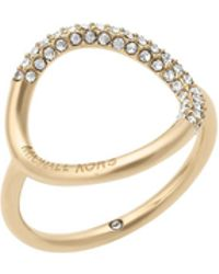Michael Kors - Open Circle Ring - Lyst