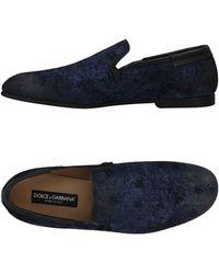 Dolce & Gabbana - Mocassins - Lyst