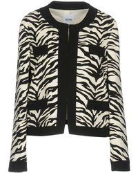 Boutique Moschino - Zebra Print Blazer - Lyst