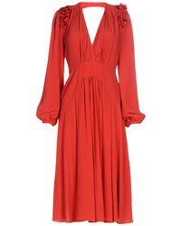 N°21 - 3/4 Length Dresses - Lyst