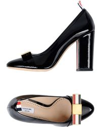 Thom Browne Signature bow pumps DR19NgNo