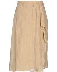 MASSCOB - 3/4 Length Skirt - Lyst