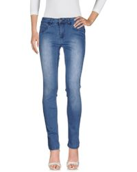 Numph - Denim Pants - Lyst