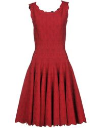 Alaïa - Knee-length Dresses - Lyst