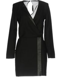 Karl Lagerfeld - Short Dress - Lyst