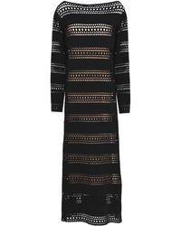 Alaïa - Long Dress - Lyst