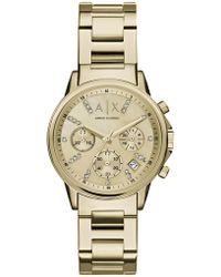 Armani Exchange - Wrist Watch - Lyst