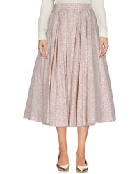 Natasha Zinko - 3/4 Length Skirt - Lyst