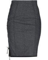 X's Milano - Knee Length Skirt - Lyst