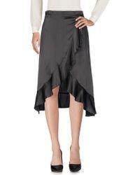 Louche - 3/4 Length Skirt - Lyst