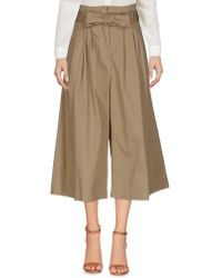 Berna - 3/4-length Trousers - Lyst