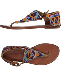 Aspiga - Toe Post Sandal - Lyst