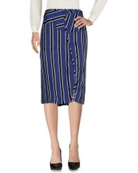 Acne Studios - 3/4 Length Skirt - Lyst