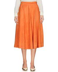 Jijil | 3/4 Length Skirt | Lyst
