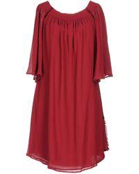 Ballantyne - Short Dress - Lyst