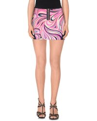 Juicy Couture - Mini Skirt - Lyst
