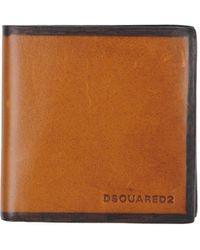 6a9f1c5844 Lyst - Portafogli e portamonete da uomo di DSquared² a partire da 34 €