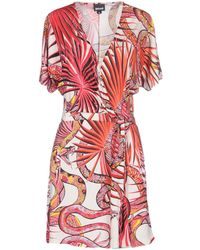 Just Cavalli - Short Dresses - Lyst