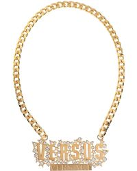 Versus - Necklace - Lyst