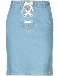Manoush - Denim Skirt - Lyst