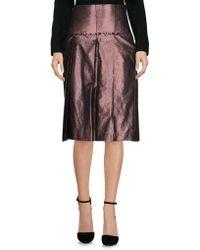 Malloni - 3/4 Length Skirt - Lyst
