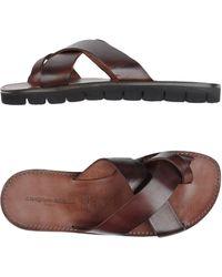 L'artigiano Del Cuoio - Toe Strap Sandals - Lyst