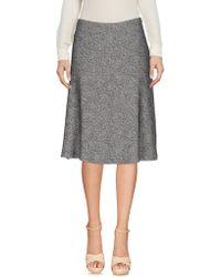 Niu - Knee Length Skirt - Lyst