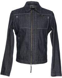 Emporio Armani - Denim Outerwear - Lyst