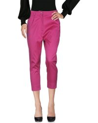 A.m. - 3/4-length Trousers - Lyst