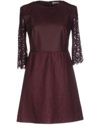 Scee By Twin-set - Short Dress - Lyst
