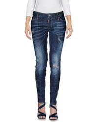 DSquared² - Denim Trousers - Lyst