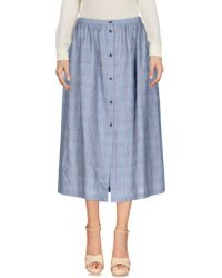 L'Autre Chose - 3/4 Length Skirts - Lyst