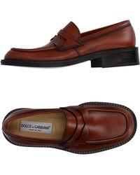 Dolce & Gabbana - Moccasins - Lyst