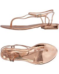 Guilhermina - Toe Post Sandal - Lyst