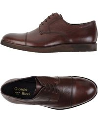 Giorgio Ricci - Lace-up Shoe - Lyst