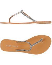 Star Mela - Toe Strap Sandal - Lyst