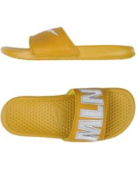 68fe9f9560aa Lyst - Nike Sandals in Yellow
