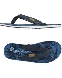 Pepe Jeans - Toe Post Sandal - Lyst