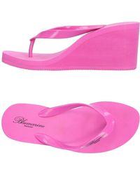 Blumarine - Toe Strap Sandal - Lyst