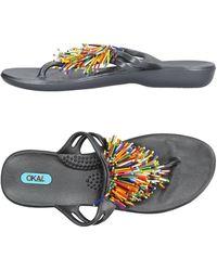 Oka-B - Toe Post Sandal - Lyst