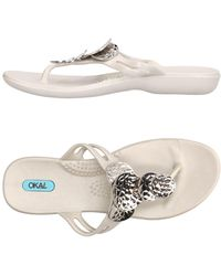 Oka-B - Toe Post Sandal - Lyst