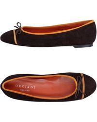 Orciani - Ballet Flats - Lyst