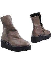 Y's Yohji Yamamoto - Ankle Boots - Lyst