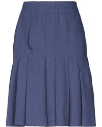 Aspesi - Knee Length Skirt - Lyst