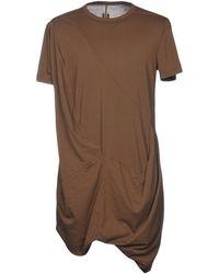 DRKSHDW by Rick Owens - T-shirt - Lyst