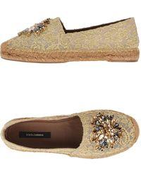 Dolce & Gabbana - Espadrilles - Lyst
