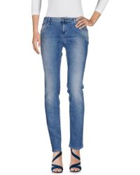 Blumarine - Denim Pants - Lyst