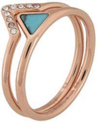 Fossil - Rings - Lyst
