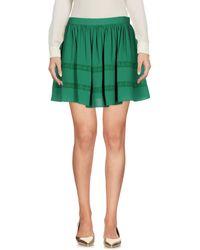 Armani Jeans - Mini Skirt - Lyst